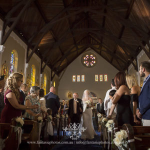 Wedding Photography at Blessed Sacrament Mosman | Fantasie Photography