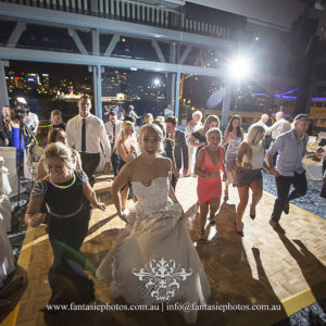 Wedding Photography Guests dancing at Pier One | Fantasie Photography