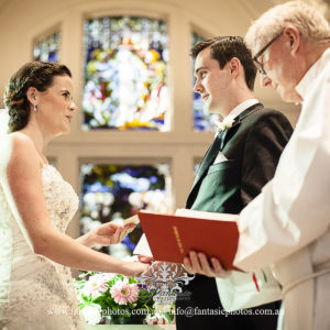 Wedding Photo in St ignatius church riverview wedding ceremony | Fantasie Photography