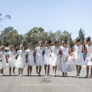 Wedding Photography Flower Girls | Fantasie Photography
