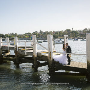 Wedding Photography at Lilyfield Wharf | Fantasie Photography