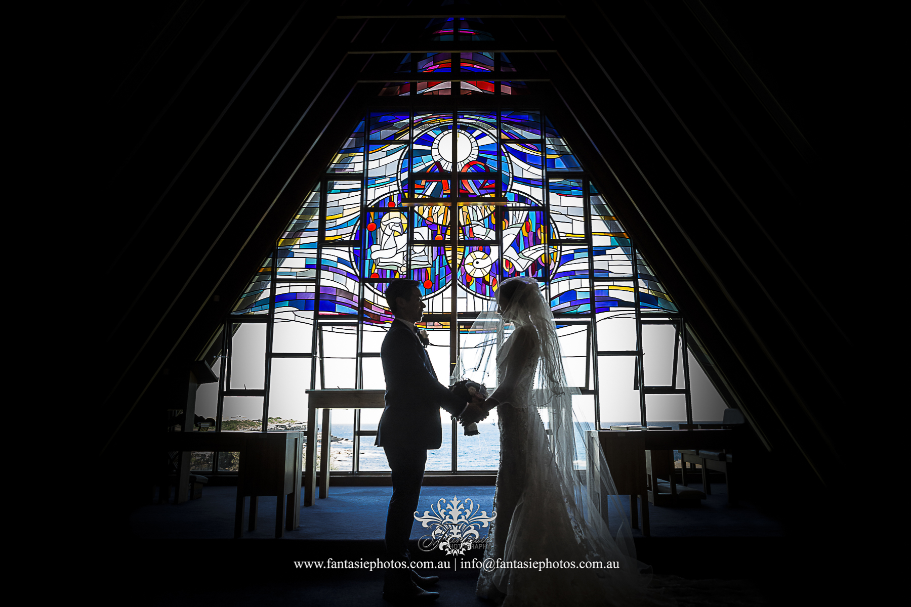 Most Talent Professional Wedding Photo at Little Bay Chapel