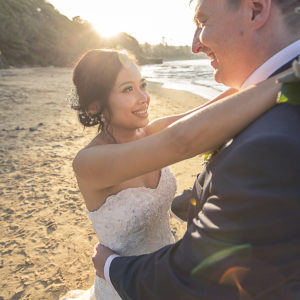 Sunset Wedding Photography at Central Coast Terrigal | Fantasie Photography