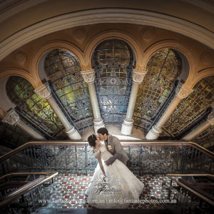 Wedding Photography at QVB Tea Room | Fantasie Photography