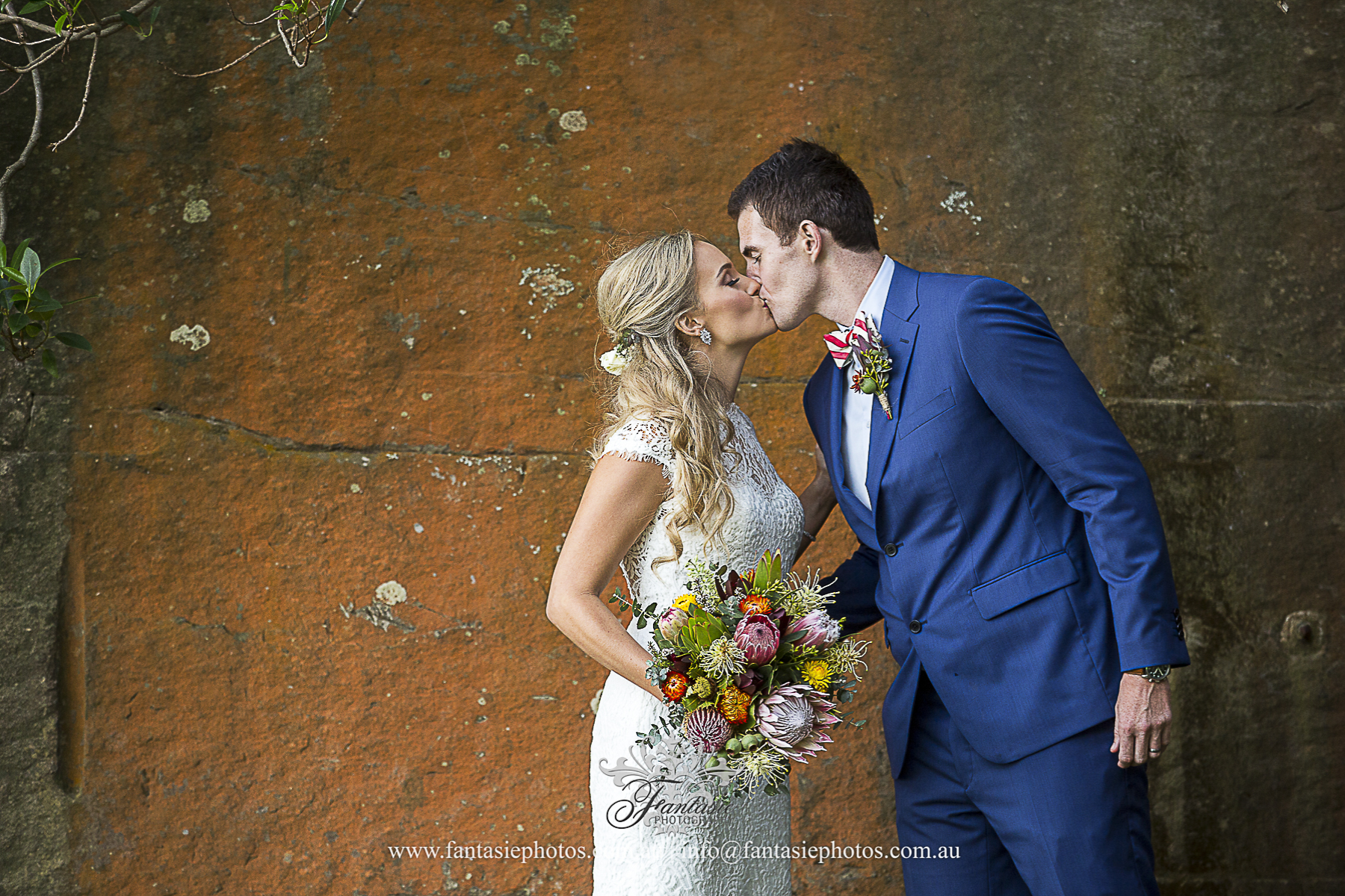 Sunset Wedding Location Shoot at Mosman | Fantasie Photography