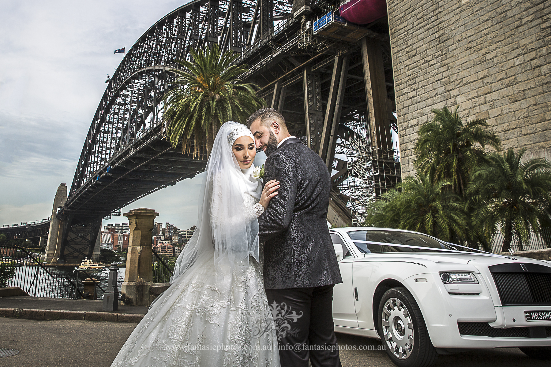 Wedding Photography Sydney Harbour Bridge | Fantasie Photography