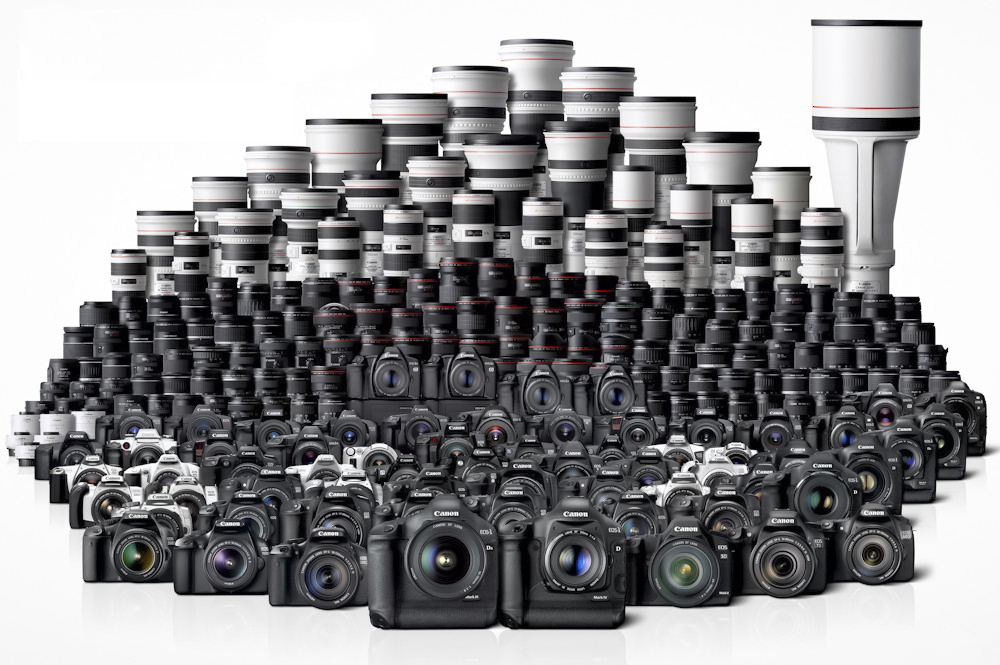 Canon Cameras and lens