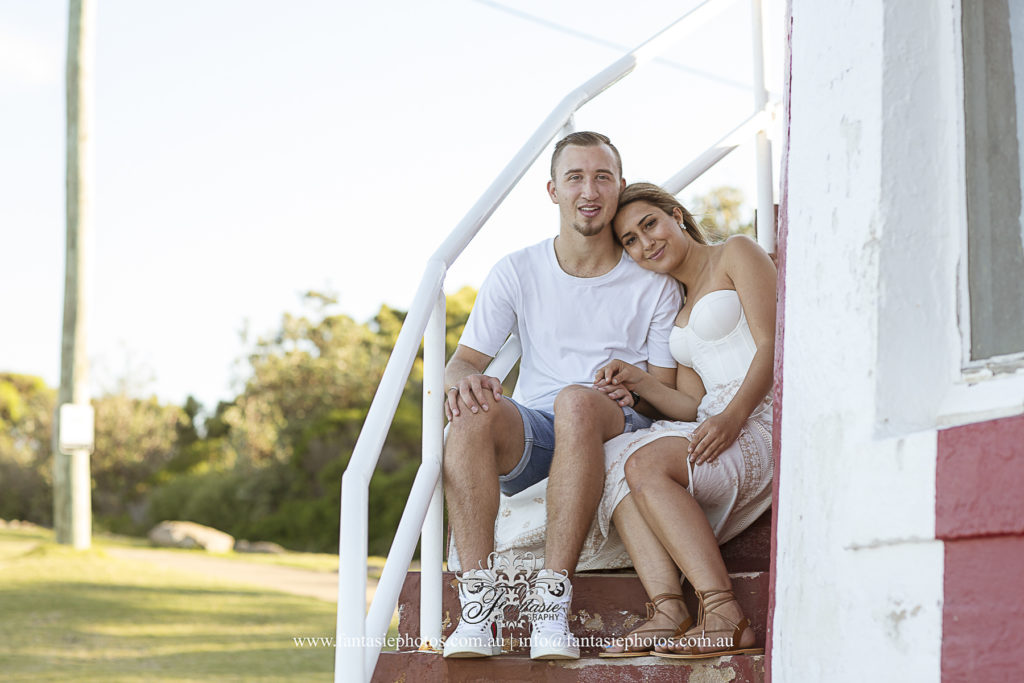 Prewedding Photography at hornby lighthouse   Fantasie Photography