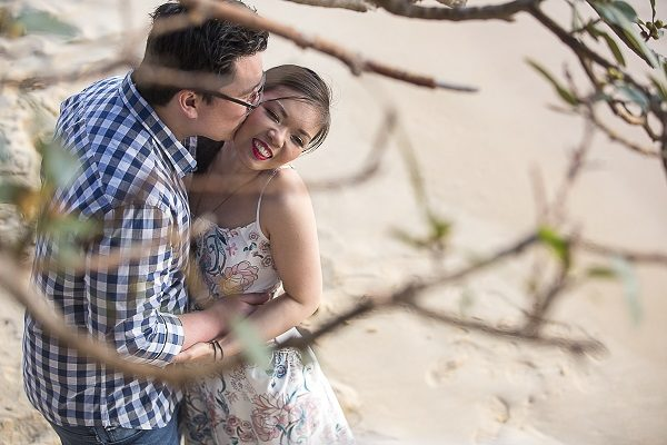 Watsons Bay Camp Cove Sunset Engagement Prewedding Location Shoot Photo Session