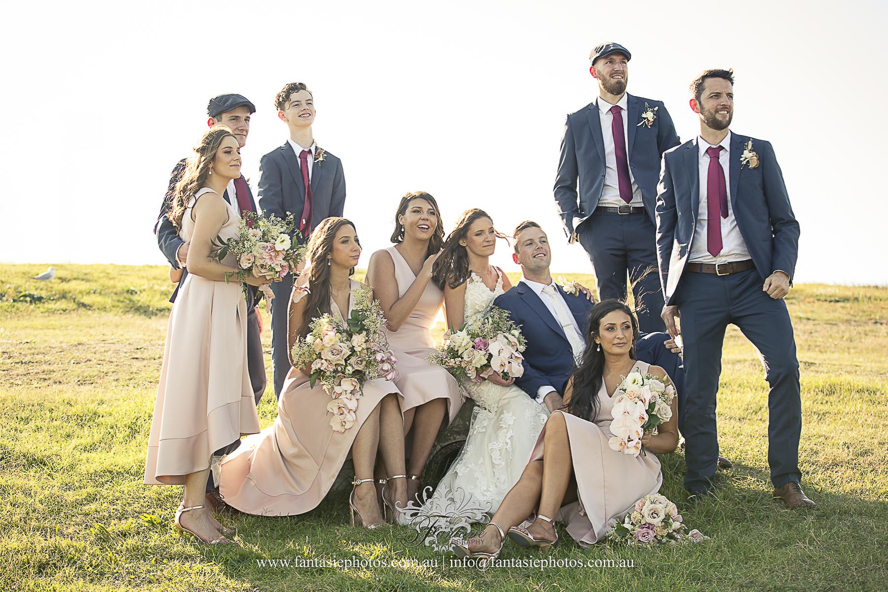 Wedding Photography at La Perouse   Fantasie Photography