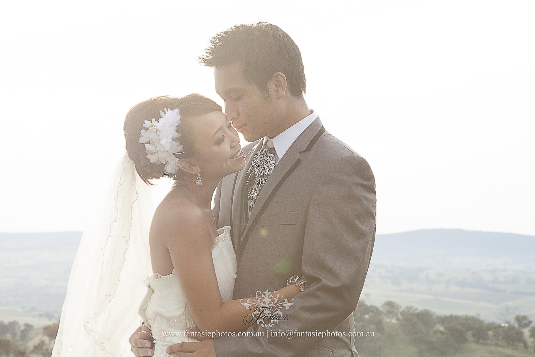 Love Hug Engagement Pre-wedding Shoot at Australia Bathurst Race Course