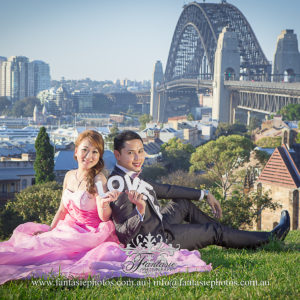 fantasie photography prewedding photography near rotunda at observatory hills the rocks