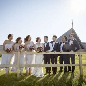Wedding Photography Bridal Party Location Shoot Little Bay Chapel Nurses War Memorial Chapel