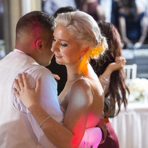 Bridal first waltz dancing at Taronga Zoo Function Centre