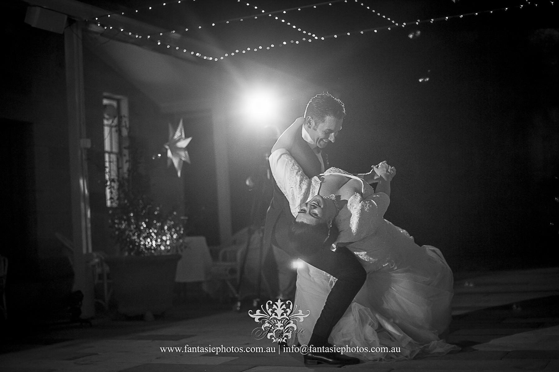 Stunning Capture First dance Bride and Groom at Gunner Barracks Mosman | Fantasie Photography
