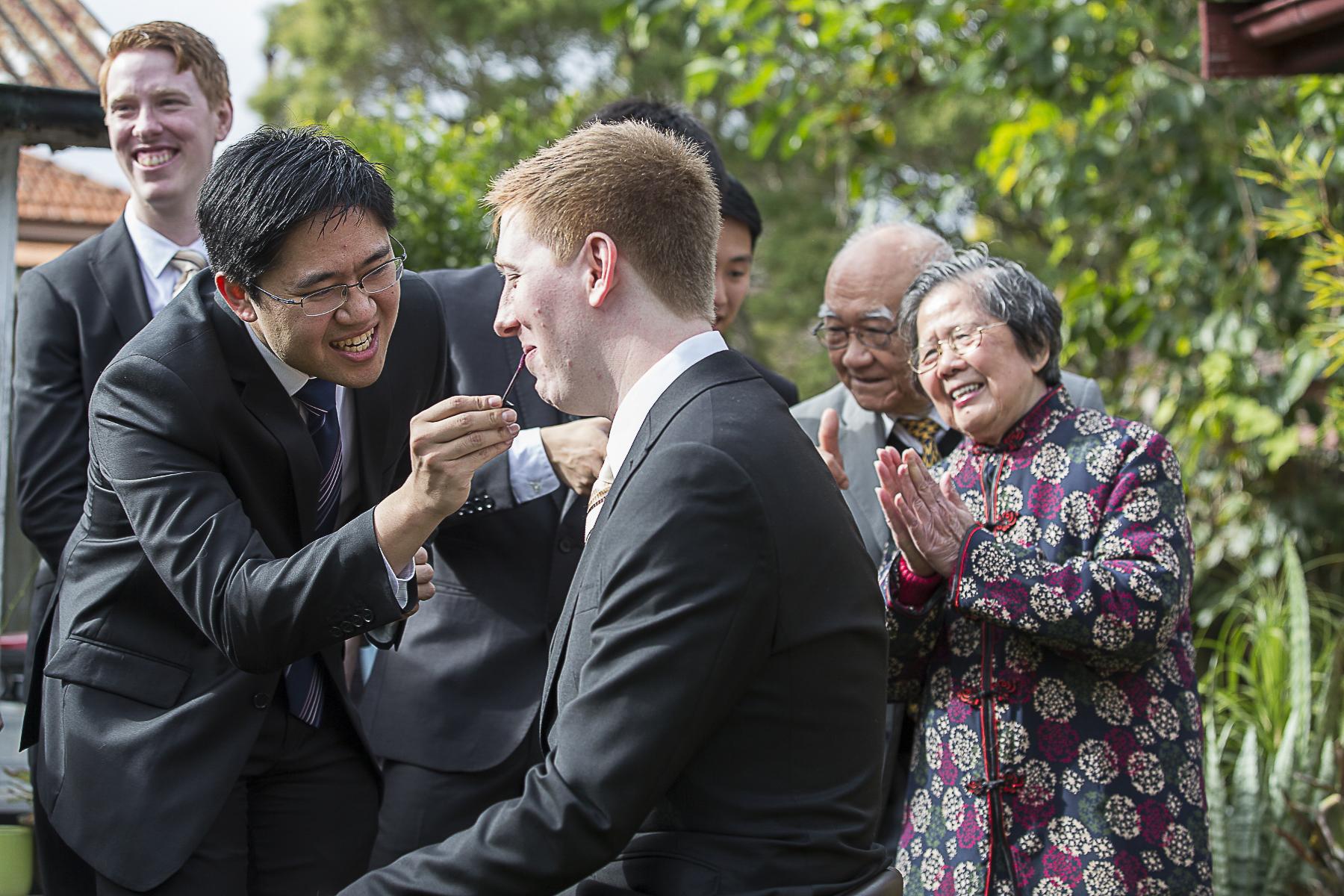 Wedding Photography Bridal party Asian Door Games | Fantasie Photography