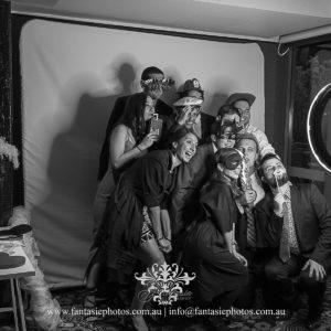Fun Photobooth service wedding venue | Fantasie Photography