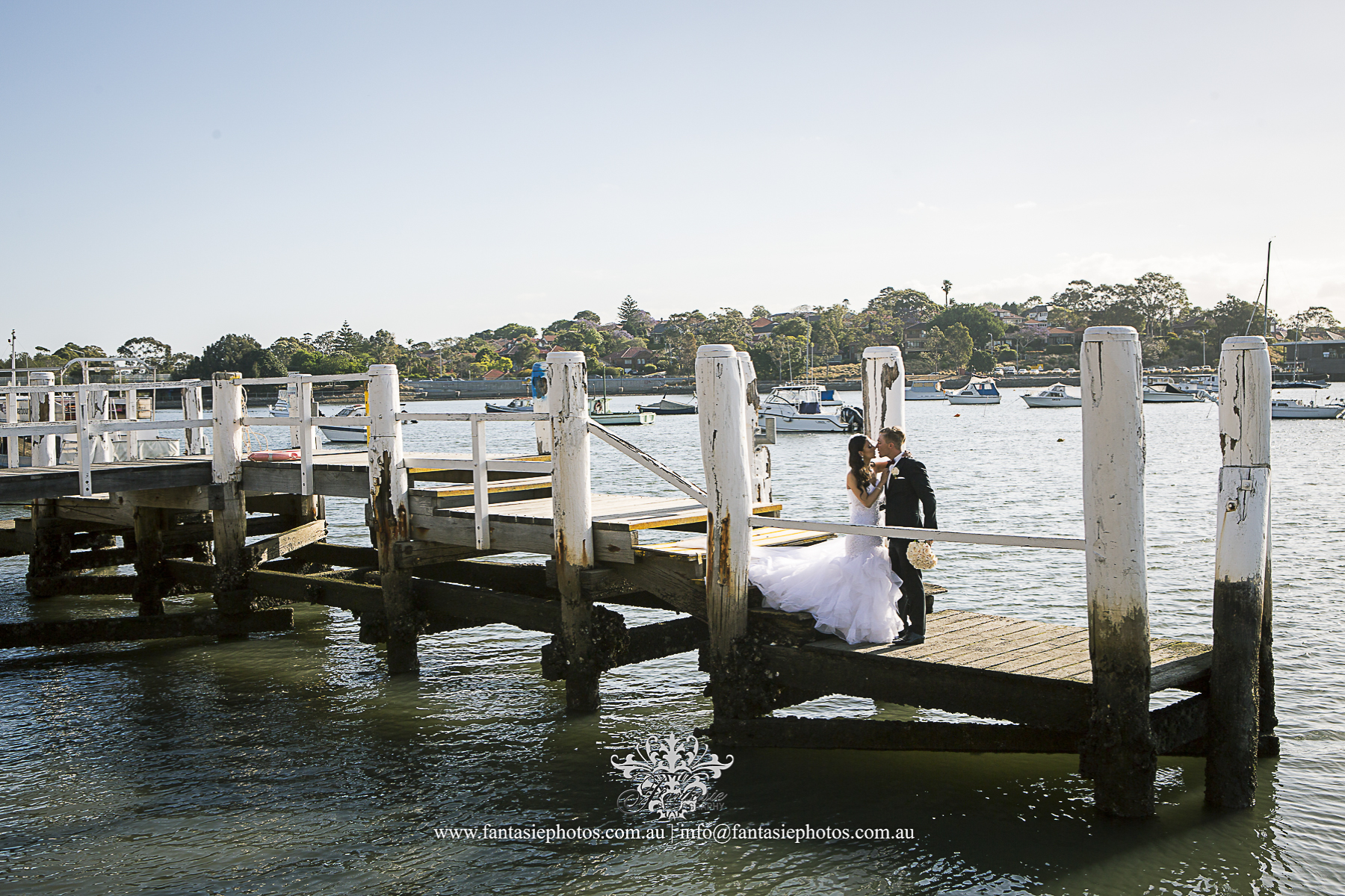 Wedding Photography at Lilyfield Wharf | Fantasie Photography