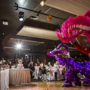 Sydney Wedding Photographer Asian Wedding Lion Dance | Fantasie Photography
