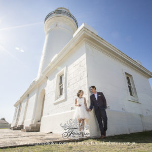 Wedding Photography at Macquarie Lighthouse Watson Bay | Fantasie Photography