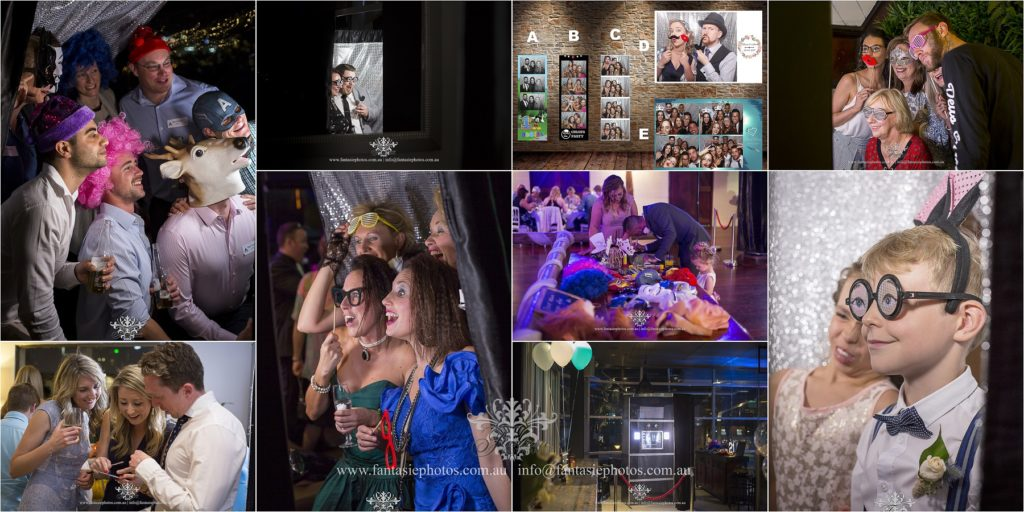 Best photobooth hire service with fun and unique props | Fantasie Photography