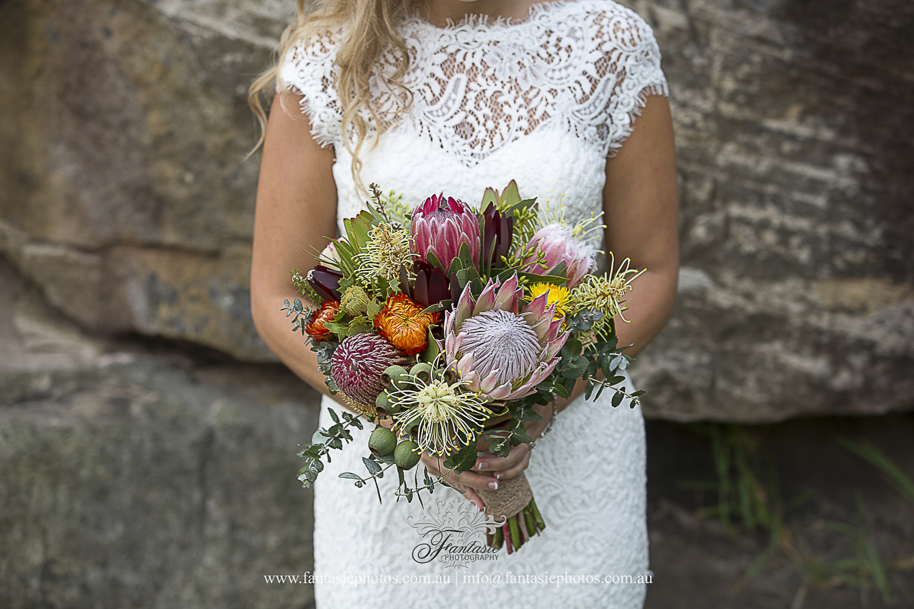 Stunning April Wedding Bridal Bouquet Photo | Fantasie Photography
