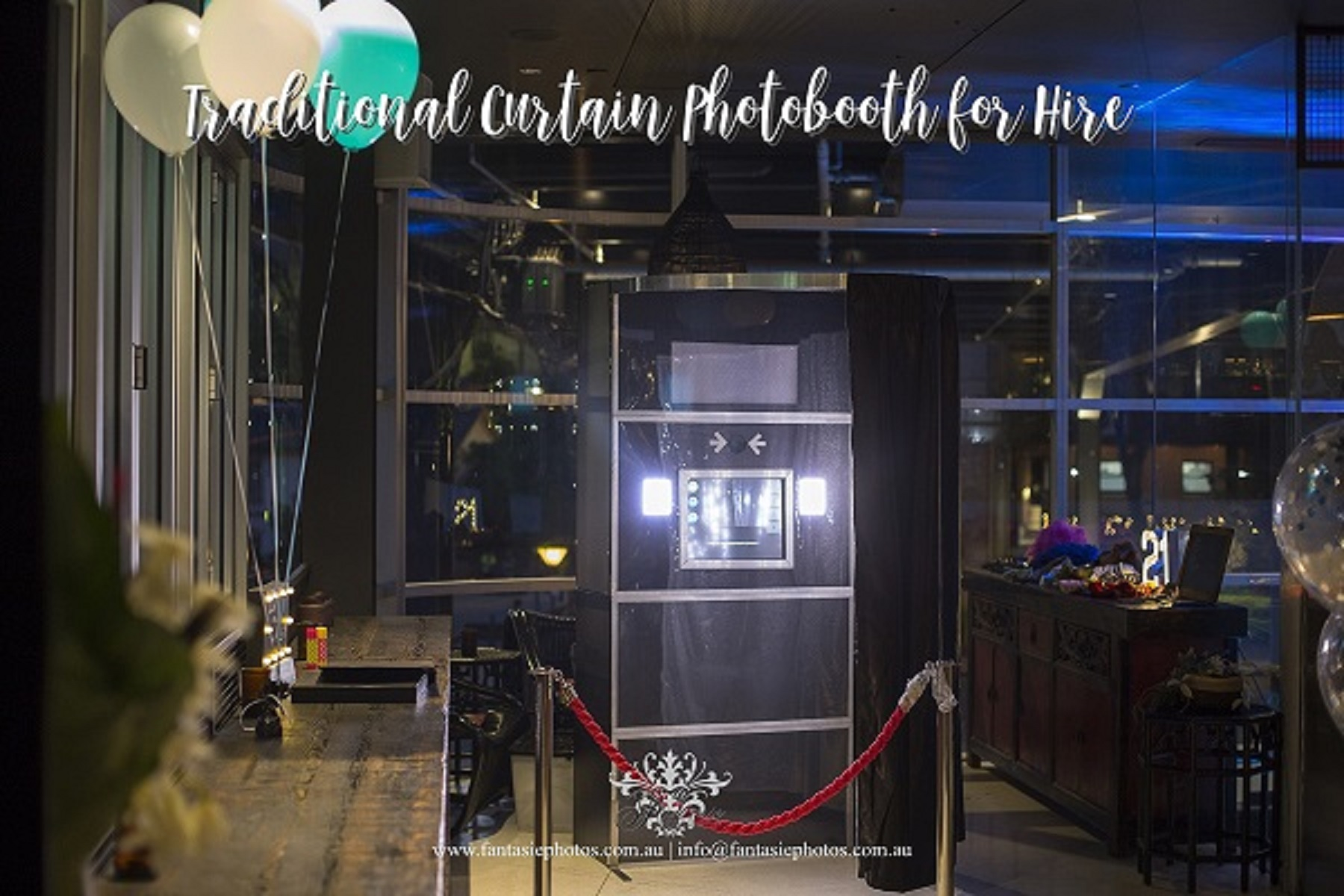 Traditional Style Photobooth for Hire in Sydney Australia