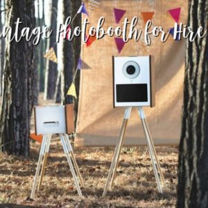 Vintage Style Photobooth for Hire in Sydney Australia
