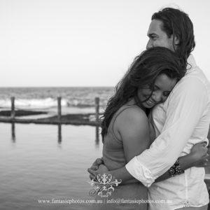 Sydney Prewedding Photography at Marouba Beach   Fantasie Photography