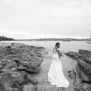Trash the dress photography at Vaucluse | Fantasie Photography