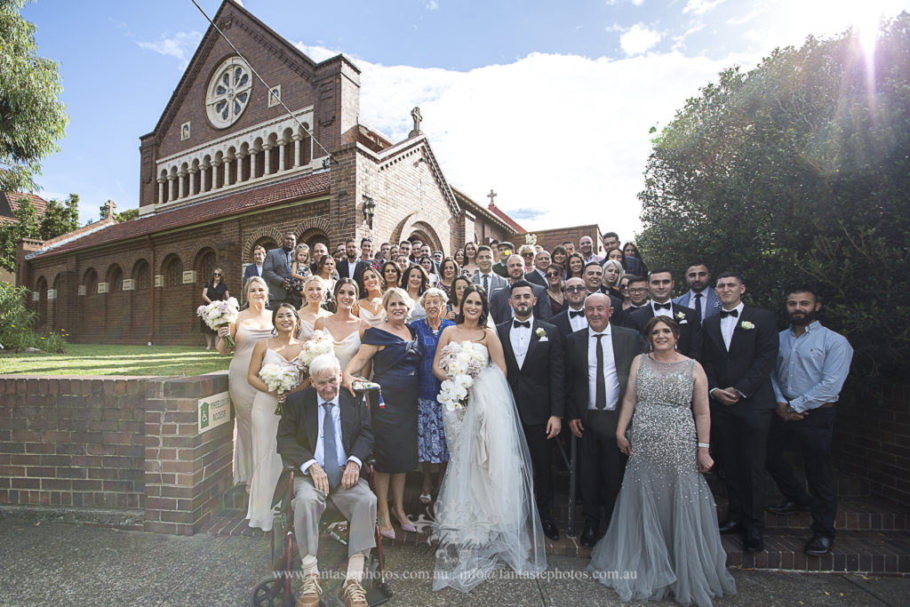Wedding Photography Blessed Sacrement Mosman   Fantasie Photography