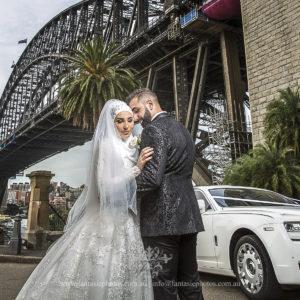Wedding Photography Sydney Harbour Bridge   Fantasie Photography