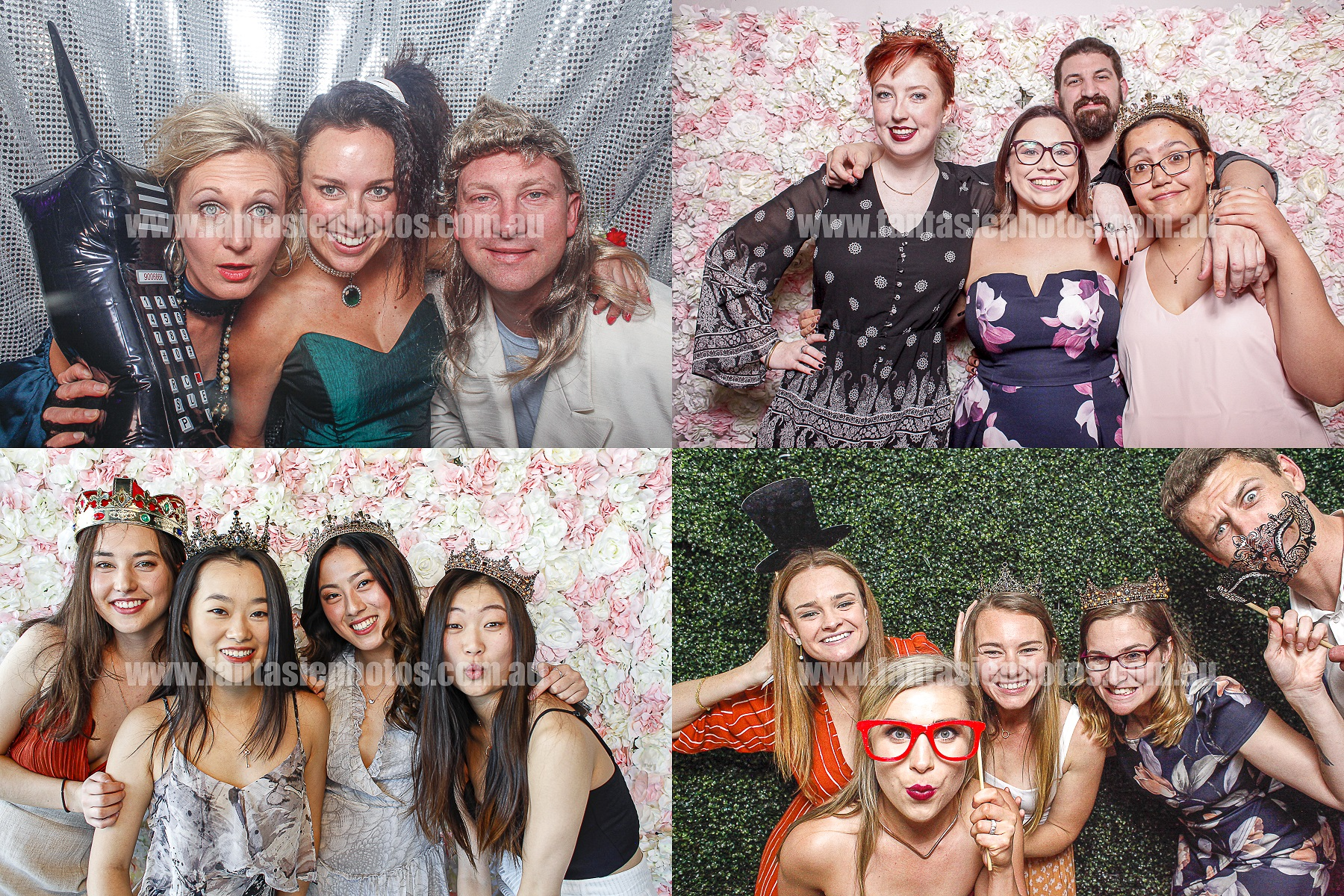 Photobooth hire | Fantasie Photography