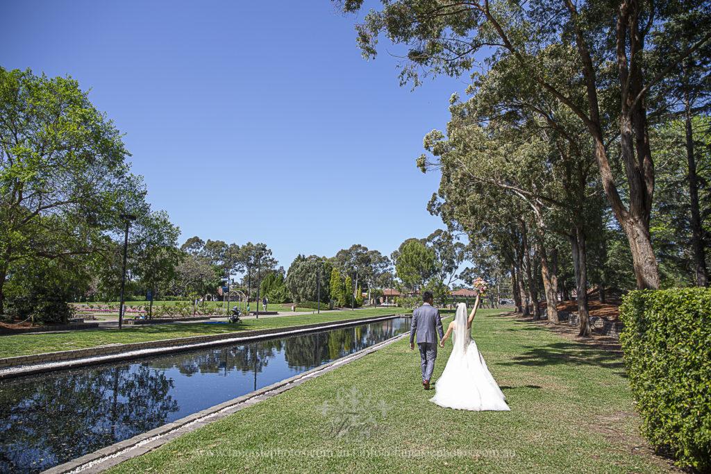 Wedding Photography Auburn Japanese botanic garden | Fantasie Photography