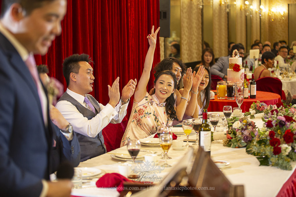 Wedding Photography Marigold Chinese Restaurant Sydney | Fantasie Photography
