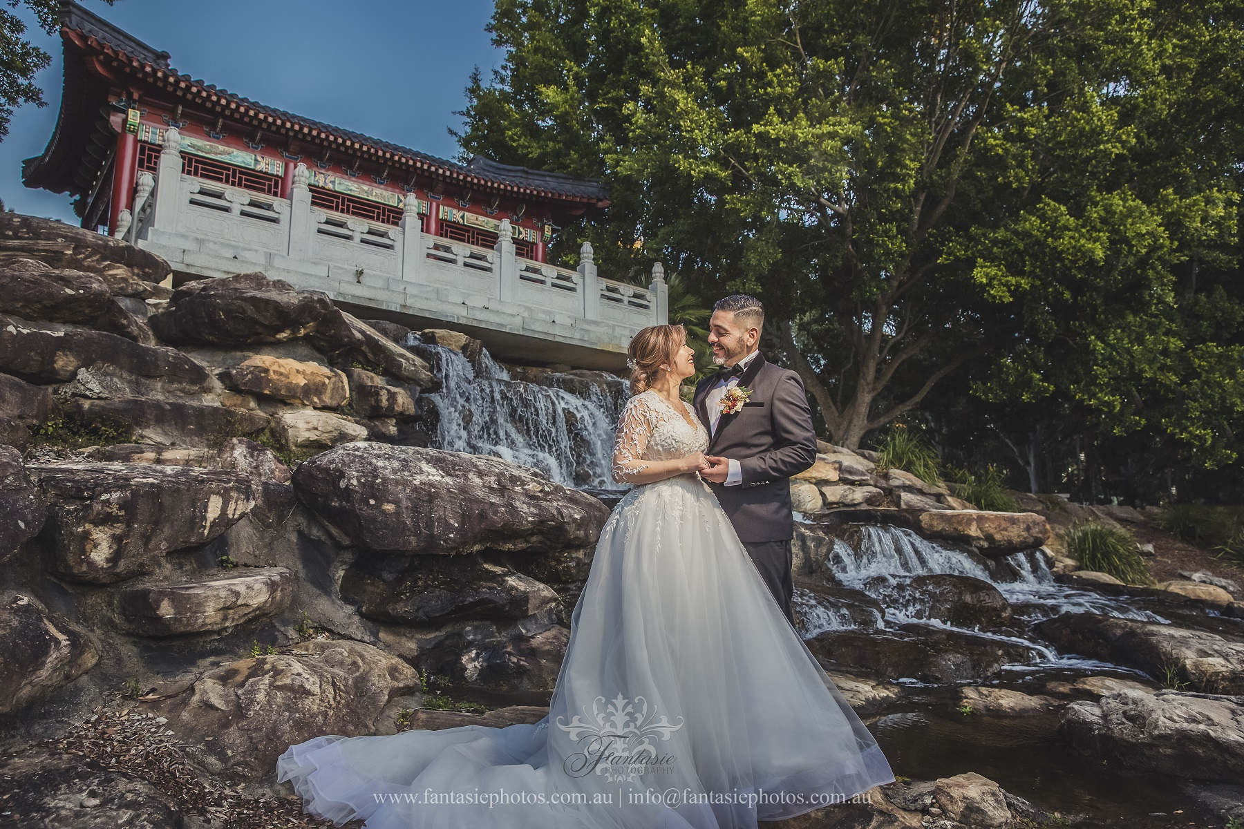 Wedding Photography Nurragingy Reserve Chang Lai Yuan Garden | Fantasie Photography