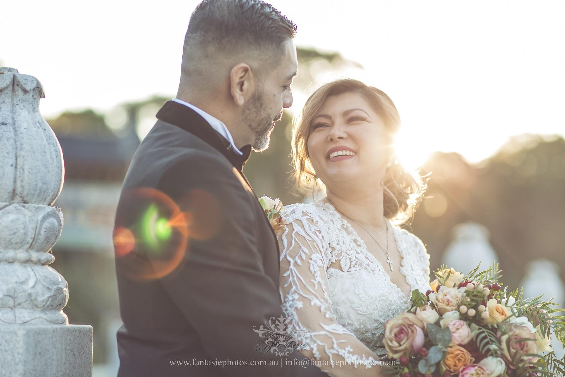 Wedding Photography Nurragingy Reserve Chang Lai Yuan Garden   Fantasie Photography