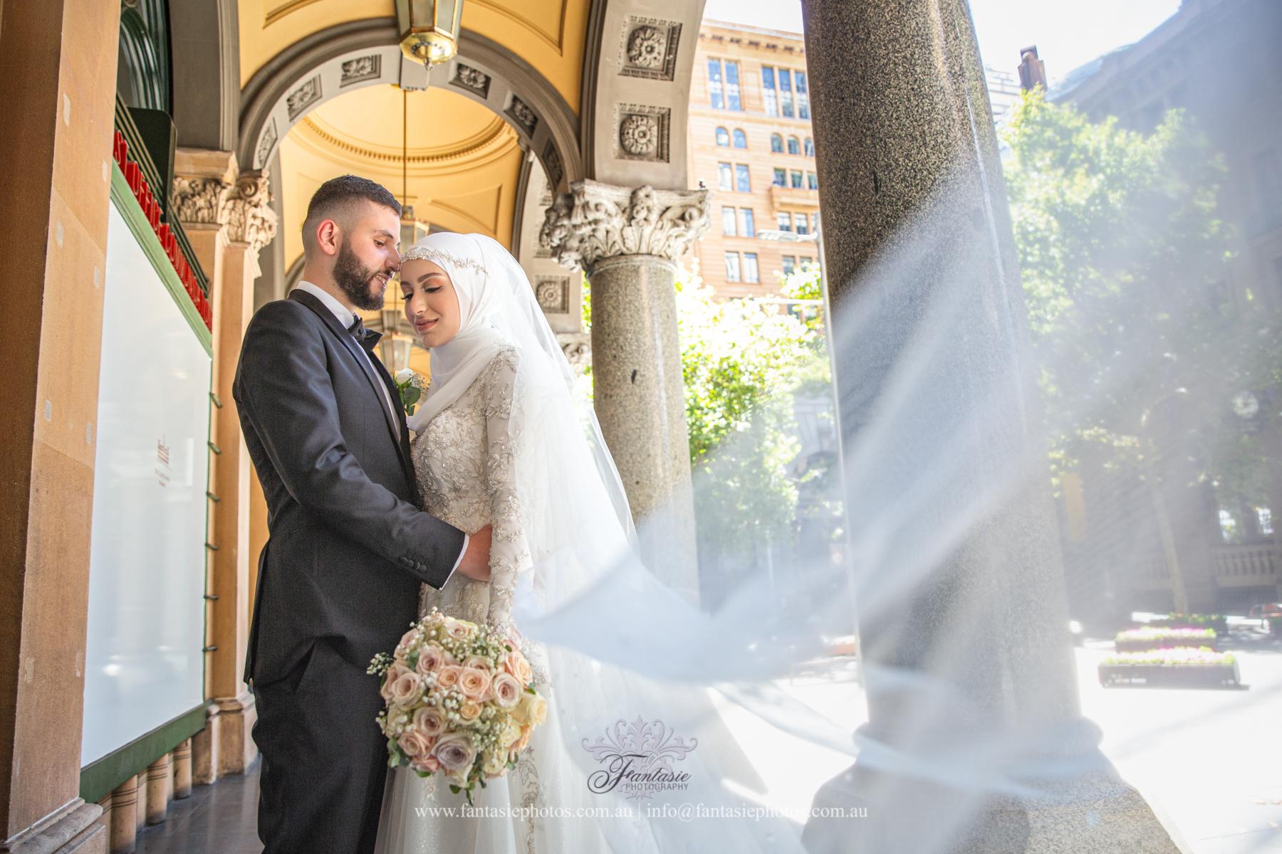 Wedding Photography Sydney Martin Place | Fantasie Photography