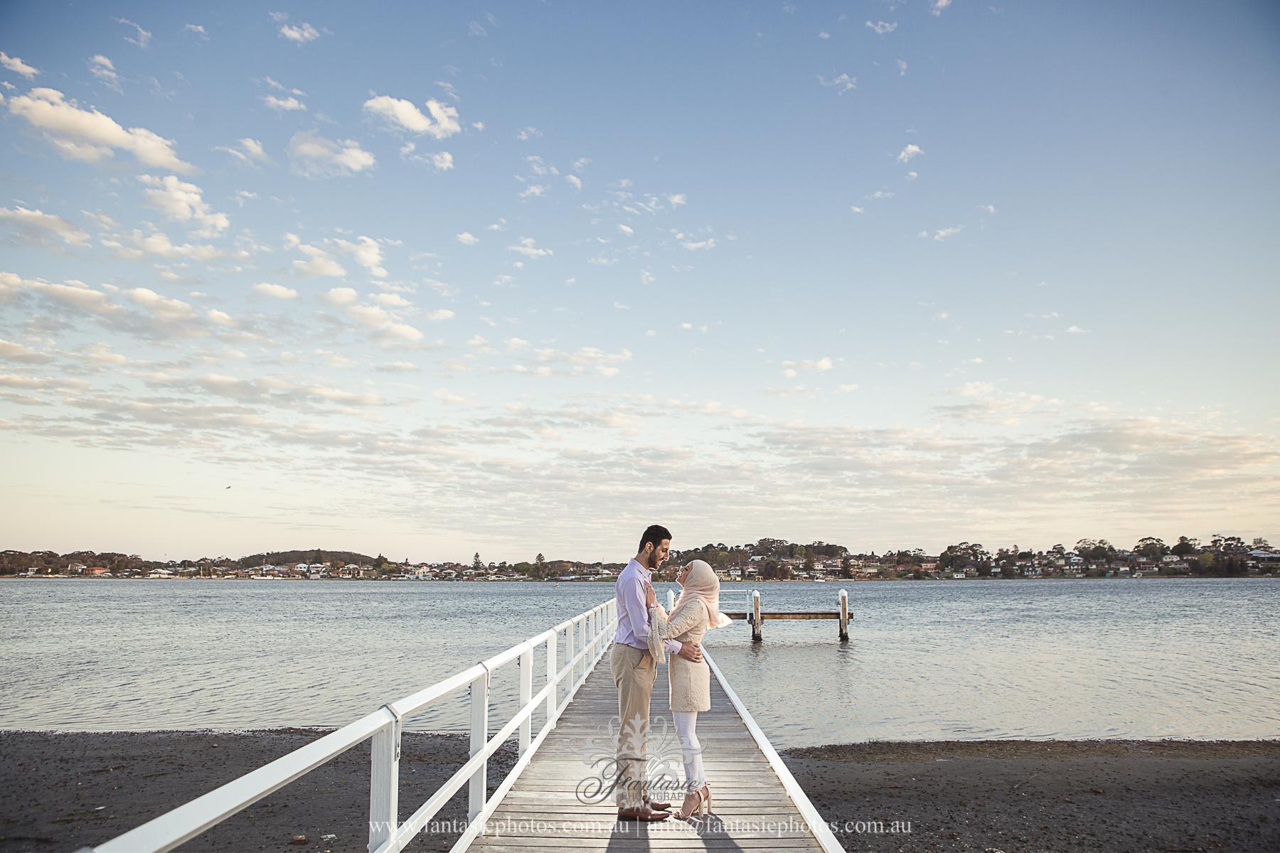 Wedding Photography Wollongong Jetty | Fantasie Photography