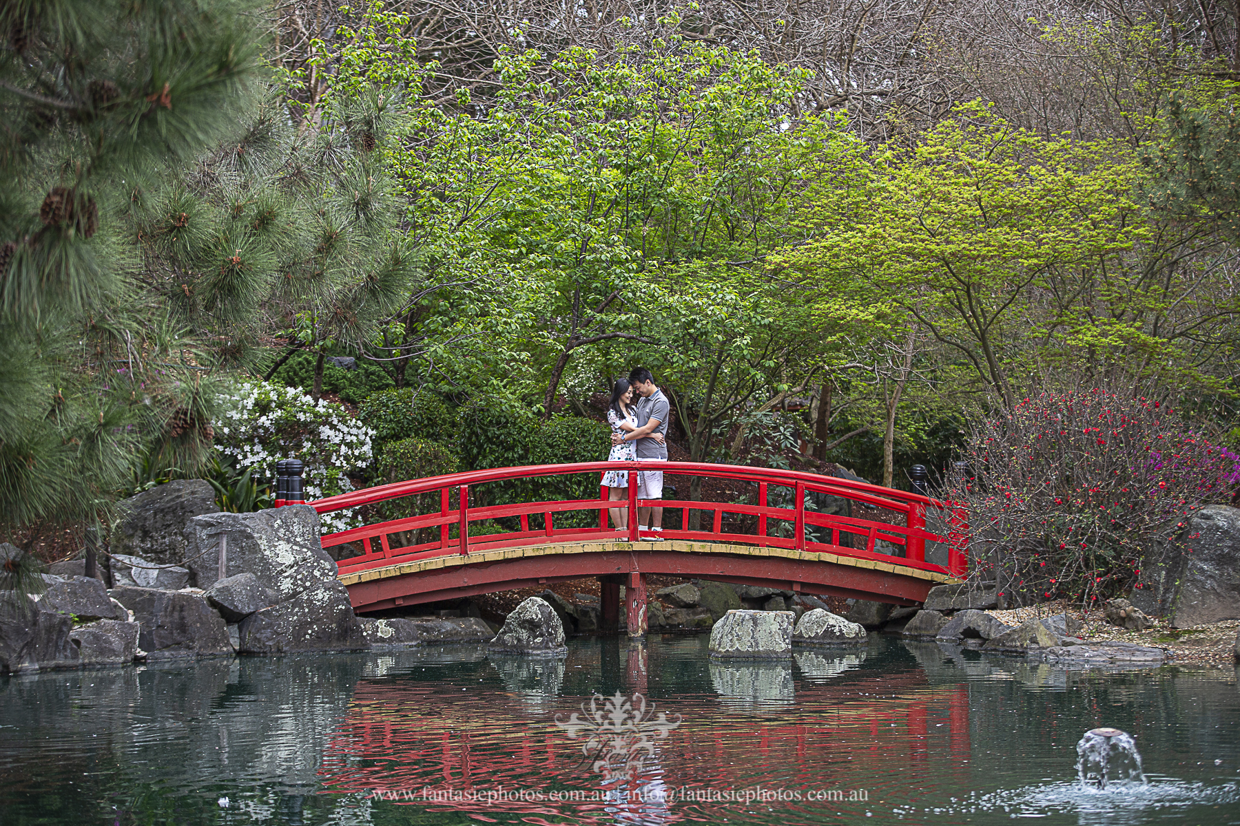 Prewedding Photography Auburn Japanese garden | Fantasie Photography
