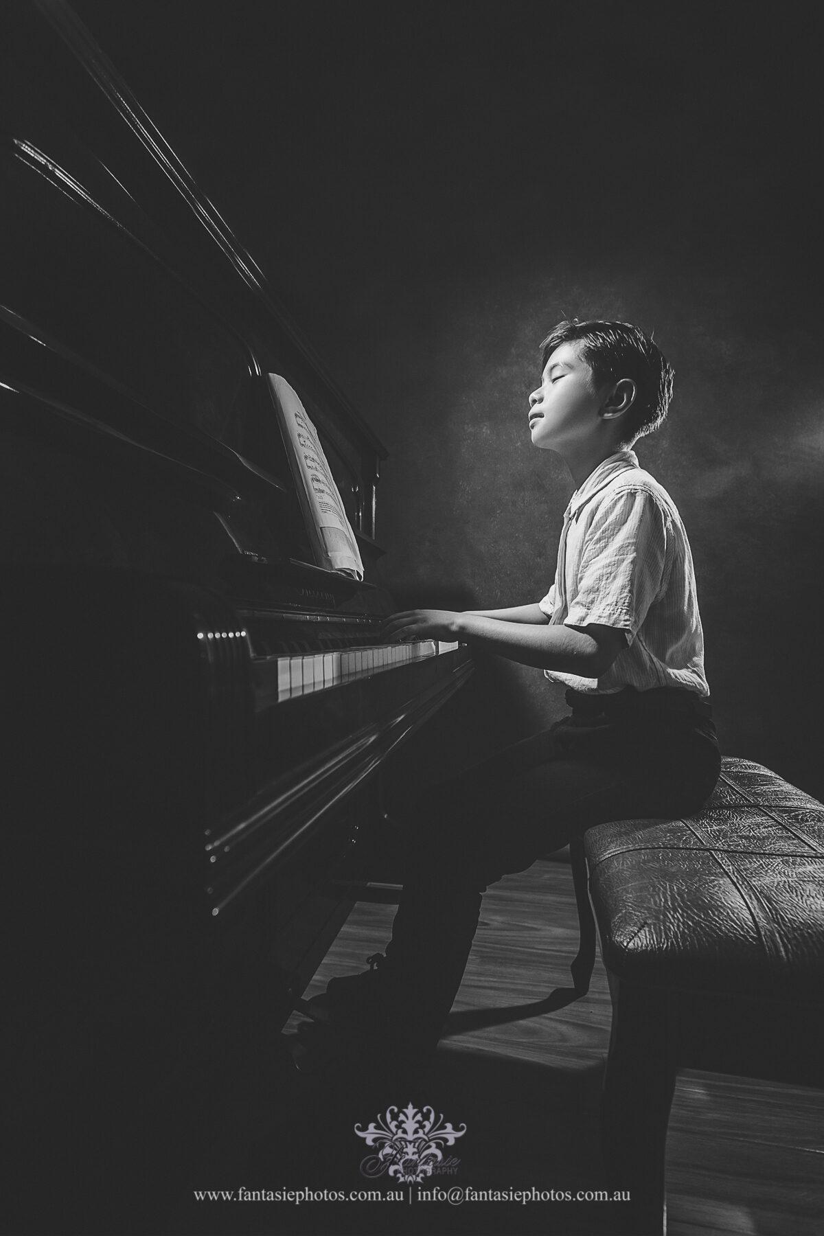 Portrait Pianist | Fantasie Photography